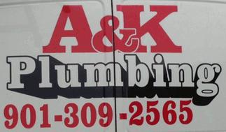 A&K Plumbing Truck